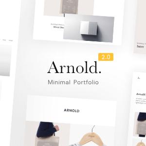 Arnold WordPress Theme New Update
